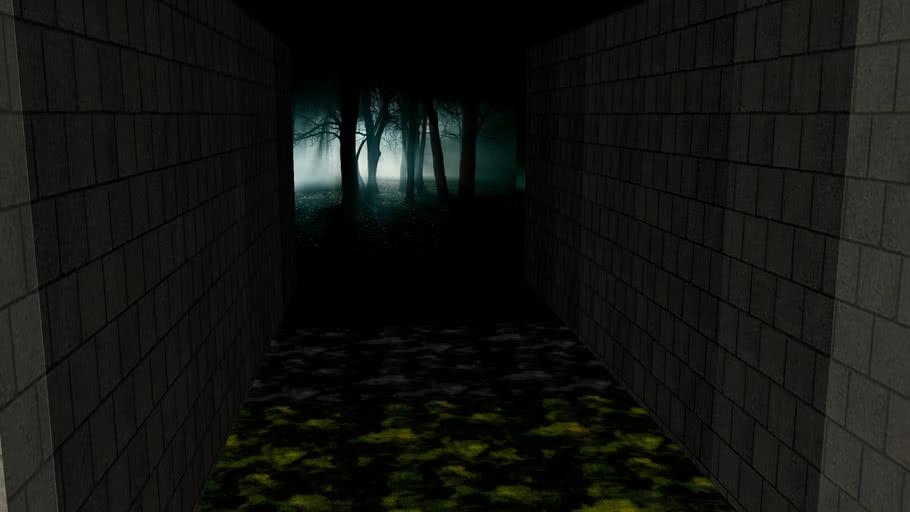 Creepy graveyard walkthrough