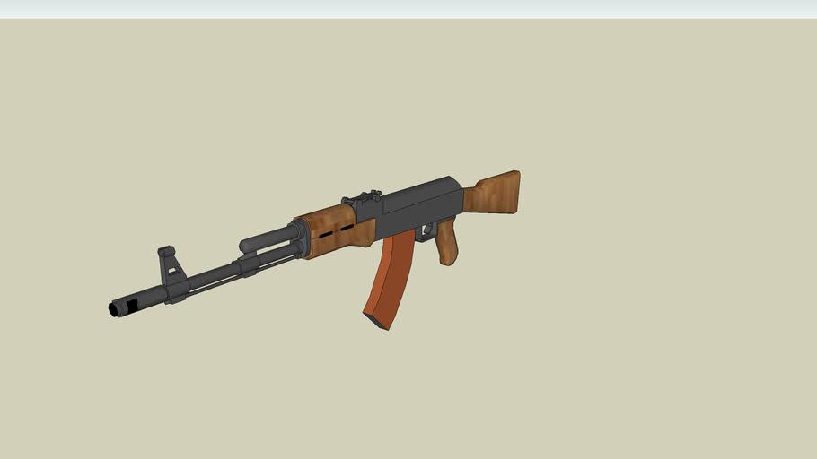 AK-74 Assault riffle