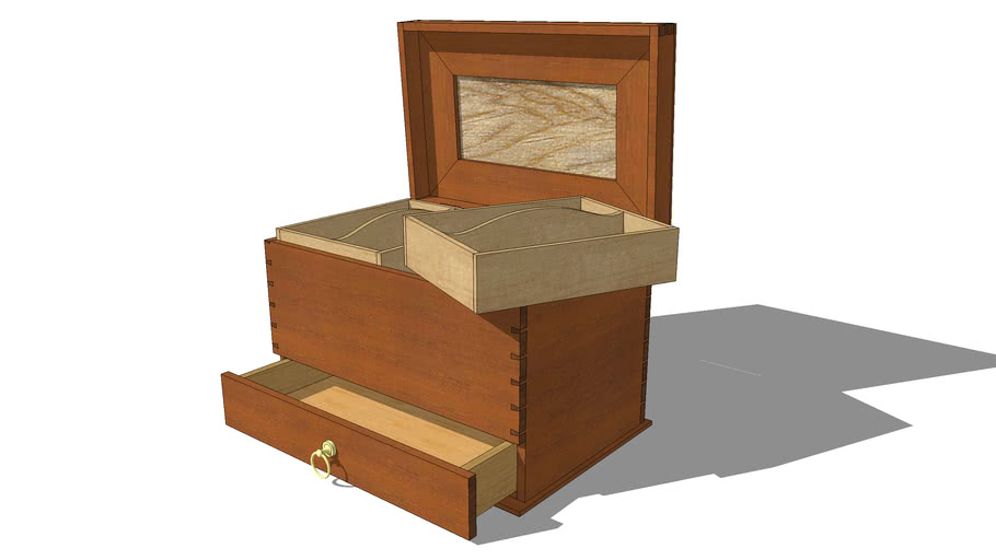 Dovetail Sewing Box