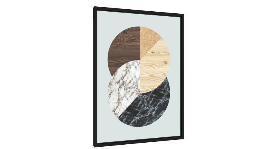 Quadro Poligonal II - Galeria9, por Vitor Costa