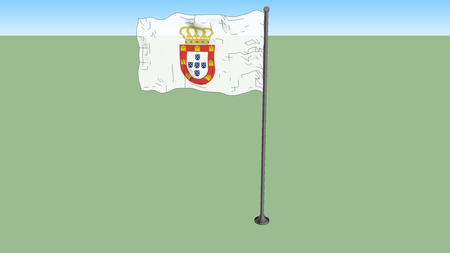 Flag of Portugal 1667