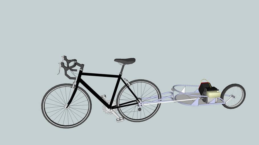 gas powered bike trailer