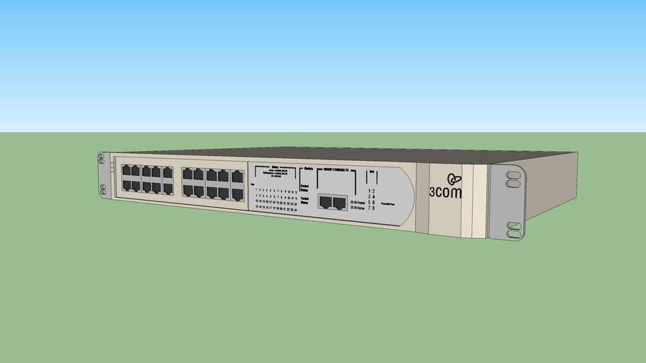 3Com SuperStack 3C16985B ethernet switch