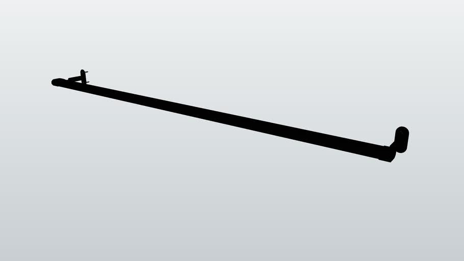 Hafele wardrobe rail