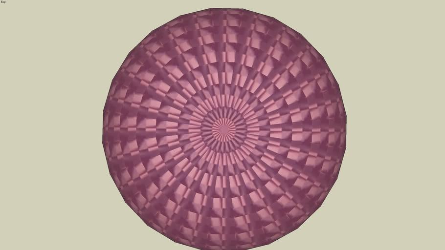 fuchsia sphere