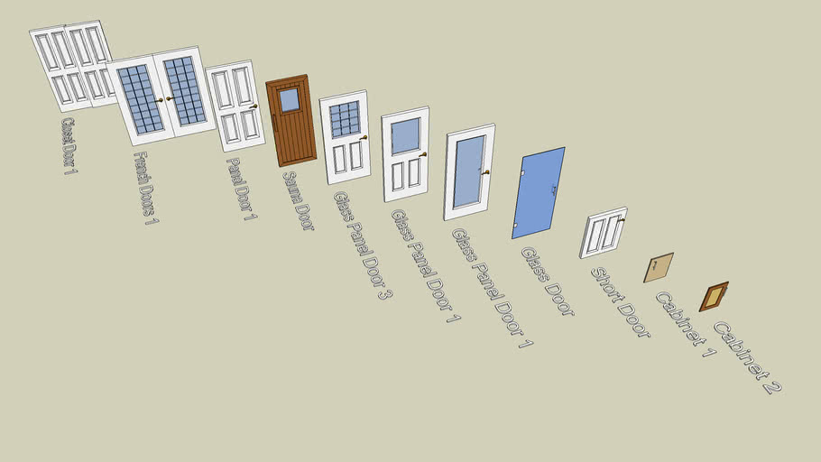 Collection of Simple Doors
