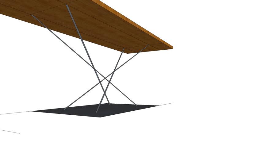 Wood-Steel Design table #3