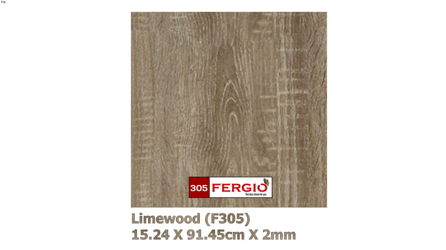 FERGIO vinyl flooring F305 (Limewood)