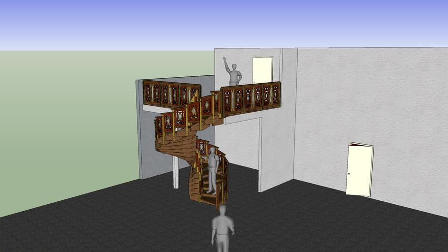 Reciprocating Spiral Staircase V 4