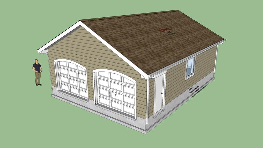 Garage 2 (Arched Doors)