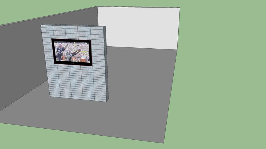 TV Wall use any stone