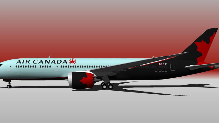 Air Canada [FICTIONAL] (C-FKSV) - Boeing 787-9 (2017)
