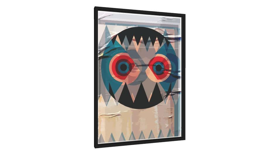 Quadro Halloween - Franks Burp 2 - Galeria9, por AC Piantino