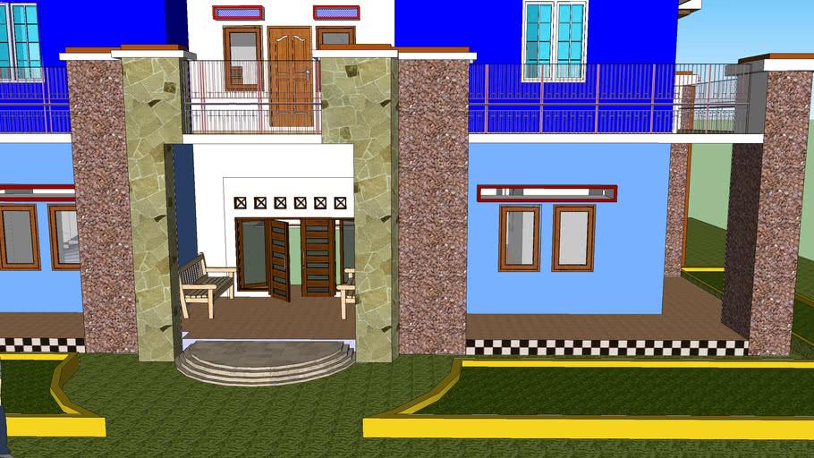 Desire house 3D view