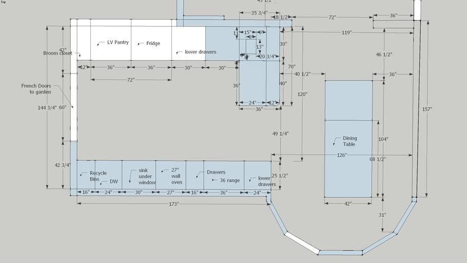 kitchen plan open layout peninsula4