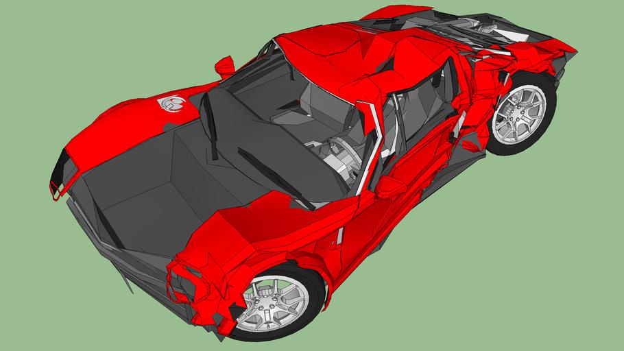 Ford GT Wreck / Crash