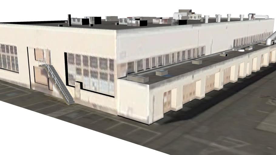 Budynek przy Alameda, Kalifornia, Stany Zjednoczone