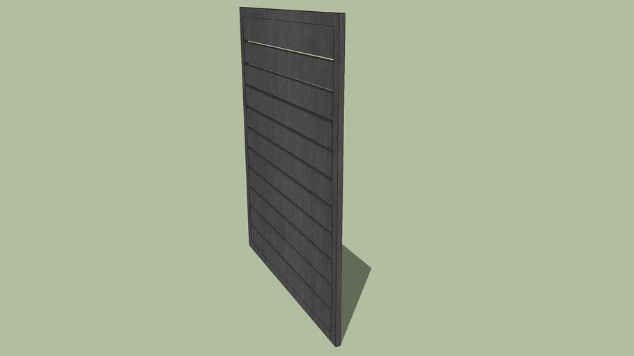 Aluminium Slat Gate.