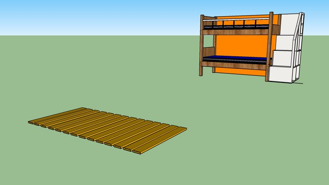 bunk  διπλό Κρεβάτι