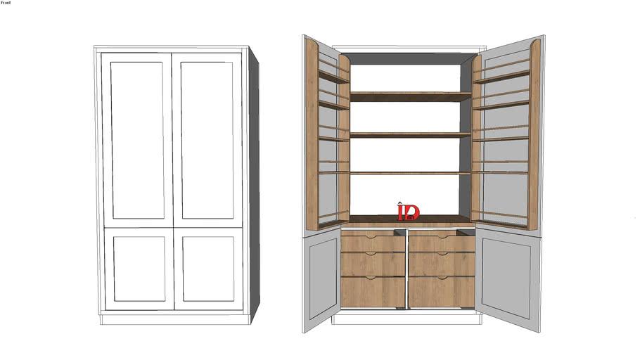 kitchen cabinet1 by IDunic