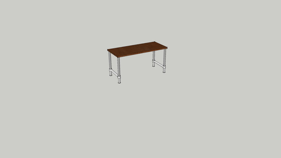 Pipe Leg Table 3d Warehouse