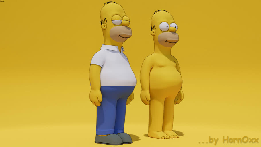 Homer Simpson (by HornOxx)