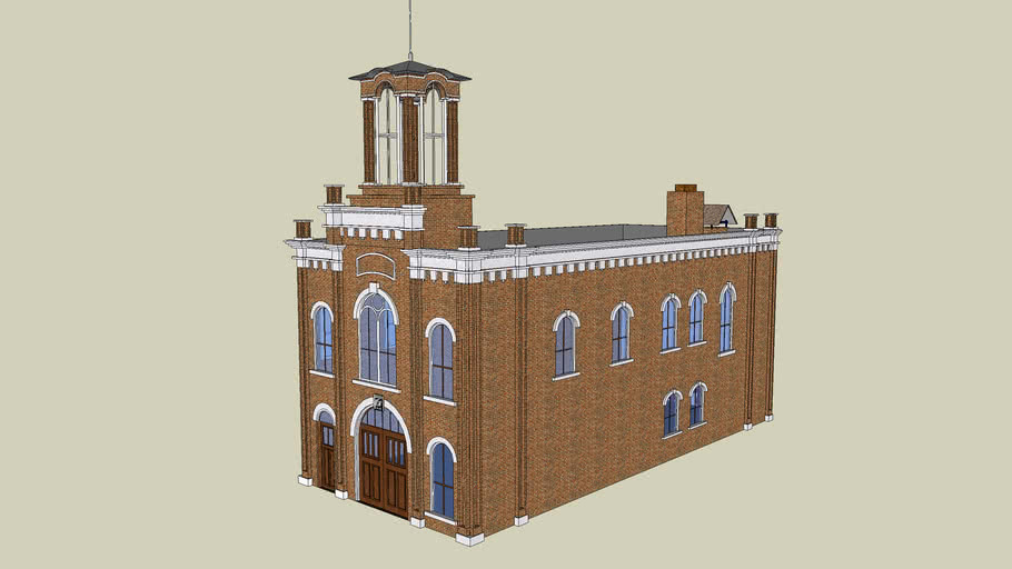 Stn 3 (a) - St. Paul, MN - Historic 1872 Fire Station 3