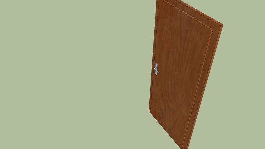 Wooden dors