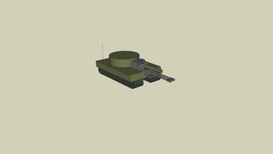 tank gun big