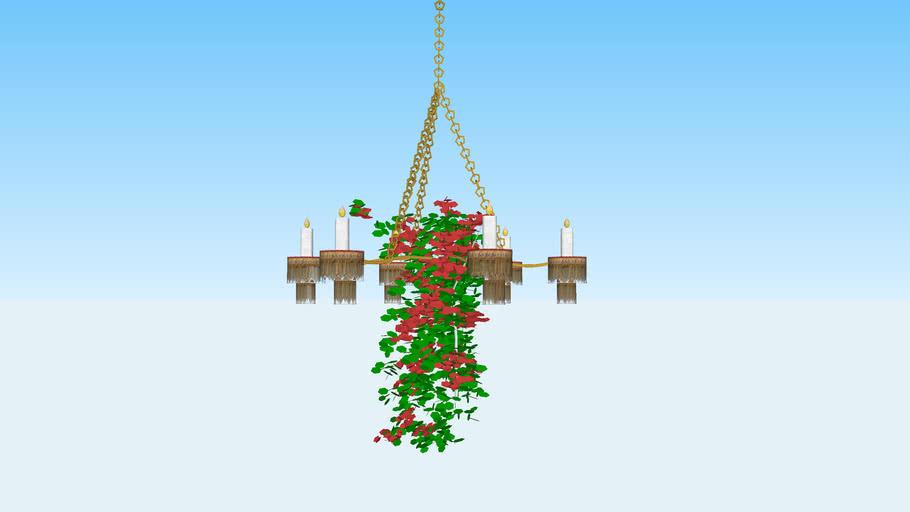 lustre chandelier  -  sietynas - liustra