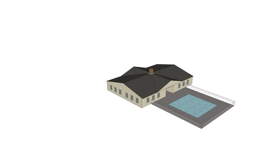 Clubhouse w/ Pool 100'X72'