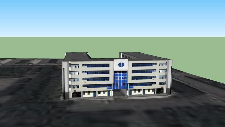 新疆石河子大学中区国防生楼