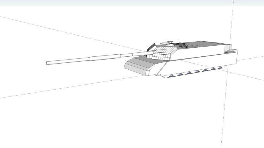 H-90A2 main battle tank 145mm