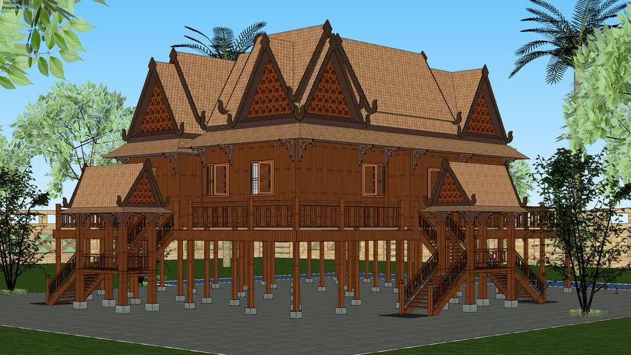 khmer house concept