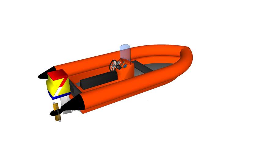RNLI Inshore boat