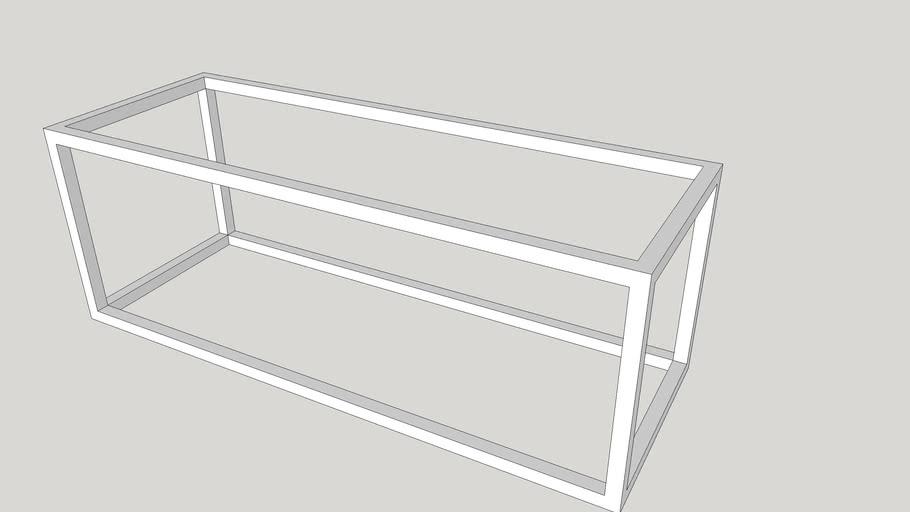 metal rack 1200 X 300 X 400 MM