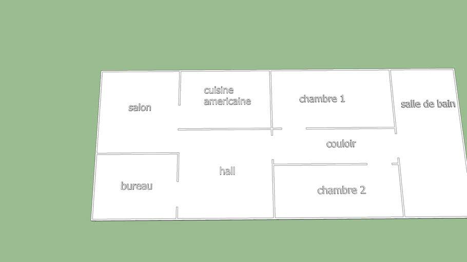 Plan De Maison 3d Warehouse