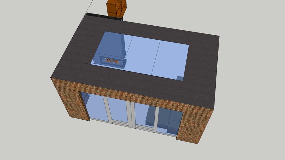 Uitbouw met lichtstraat1