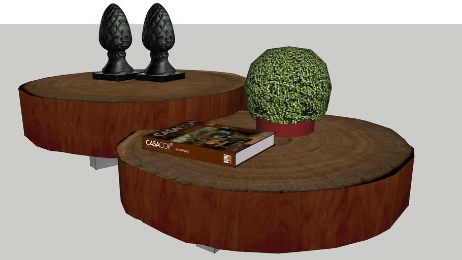 mesa de centro de tora