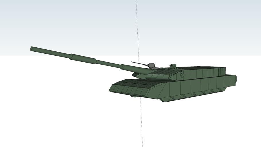 H-105A3 main battle tank 125mm L/65