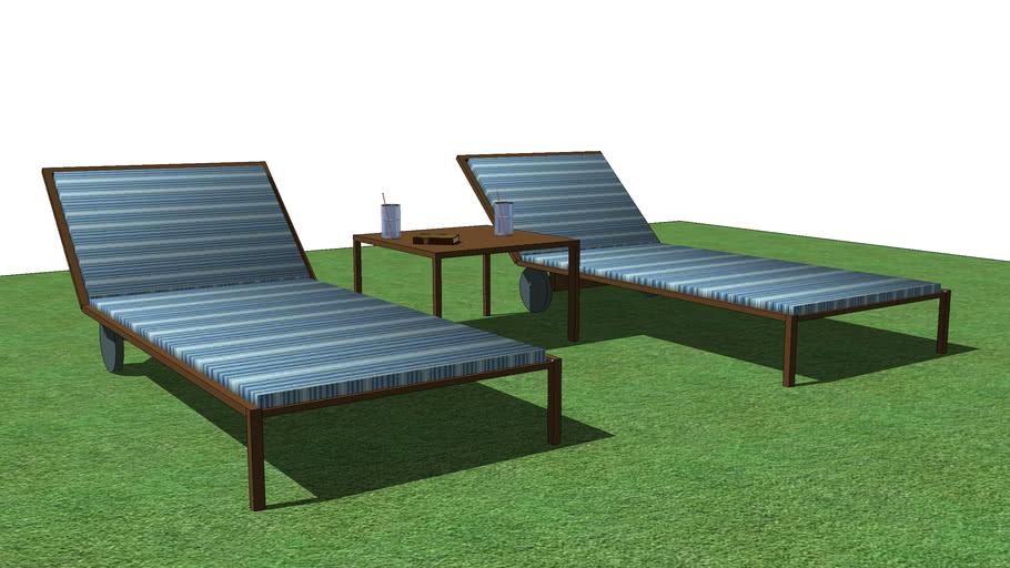 Sun loungers