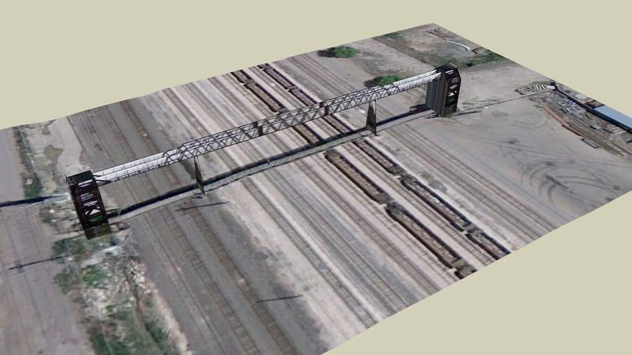 Pedestrian Bridge over BNSF Railroad