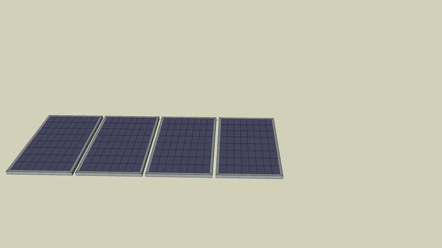 photovoltaic solar panel array