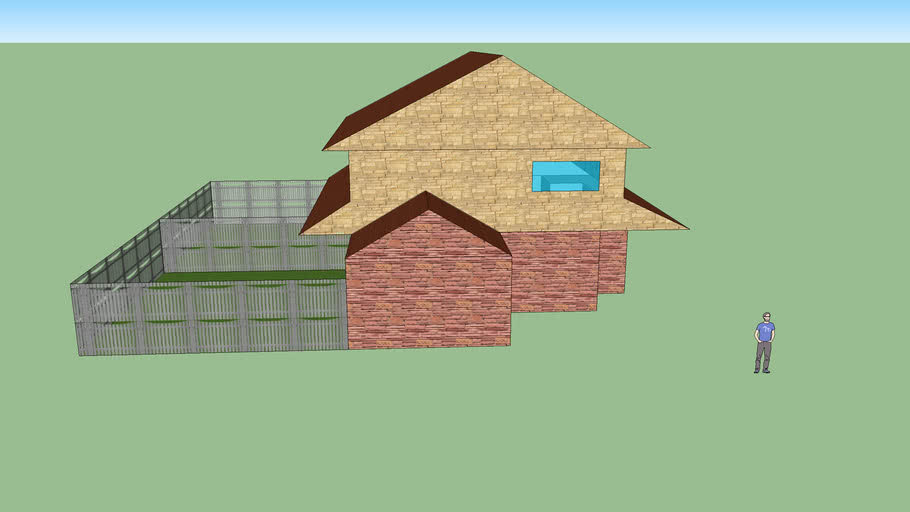 TownHouse 3D Warehouse