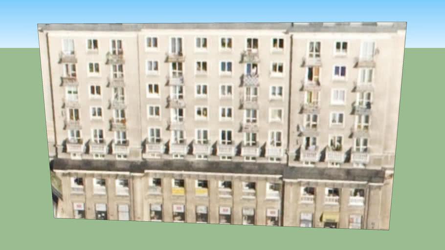 Warszawa, Blok Mieszkalny