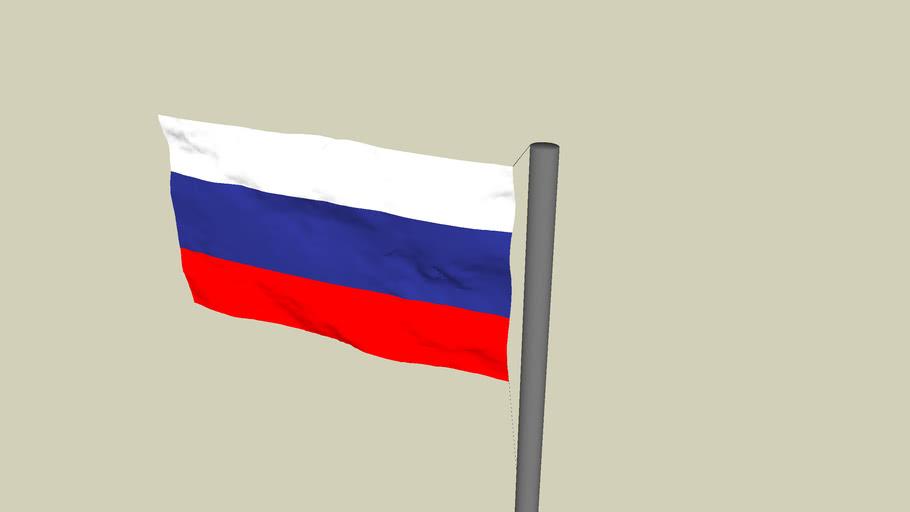 Флаг России. Russian flag.