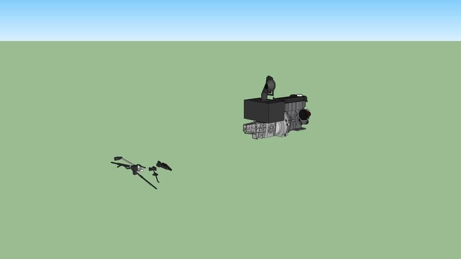 kit baja bug:moteur