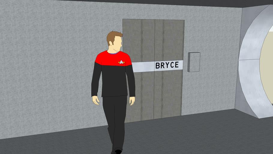 Bryce made it to Starfleet! (Right?)