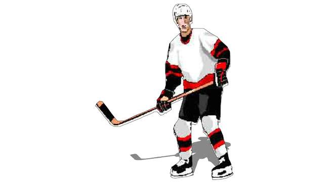Hockey Player 2