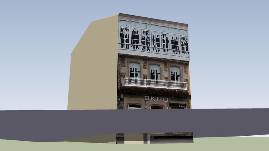 Edificio 6 Rúa Castelao, (Lugo)